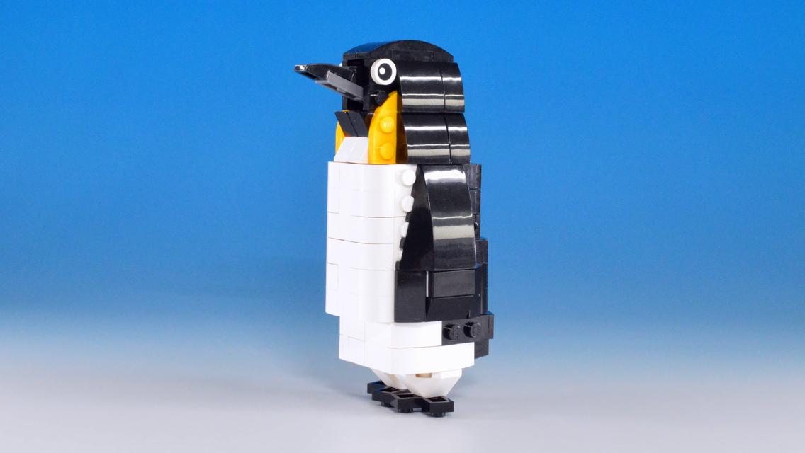 レゴキャット&マウスがペンギンに変身