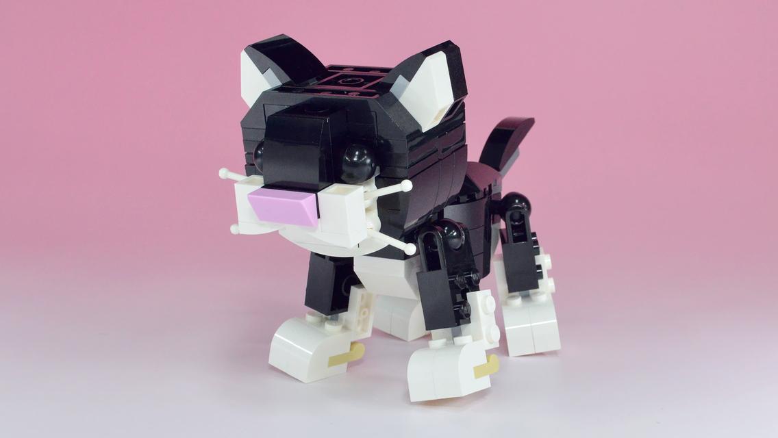 レゴキャット&マウスが子猫に変身