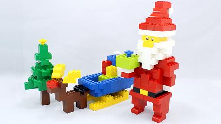 レゴで作りクリスマス