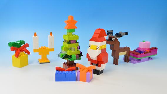 レゴクラシックで作るクリスマス