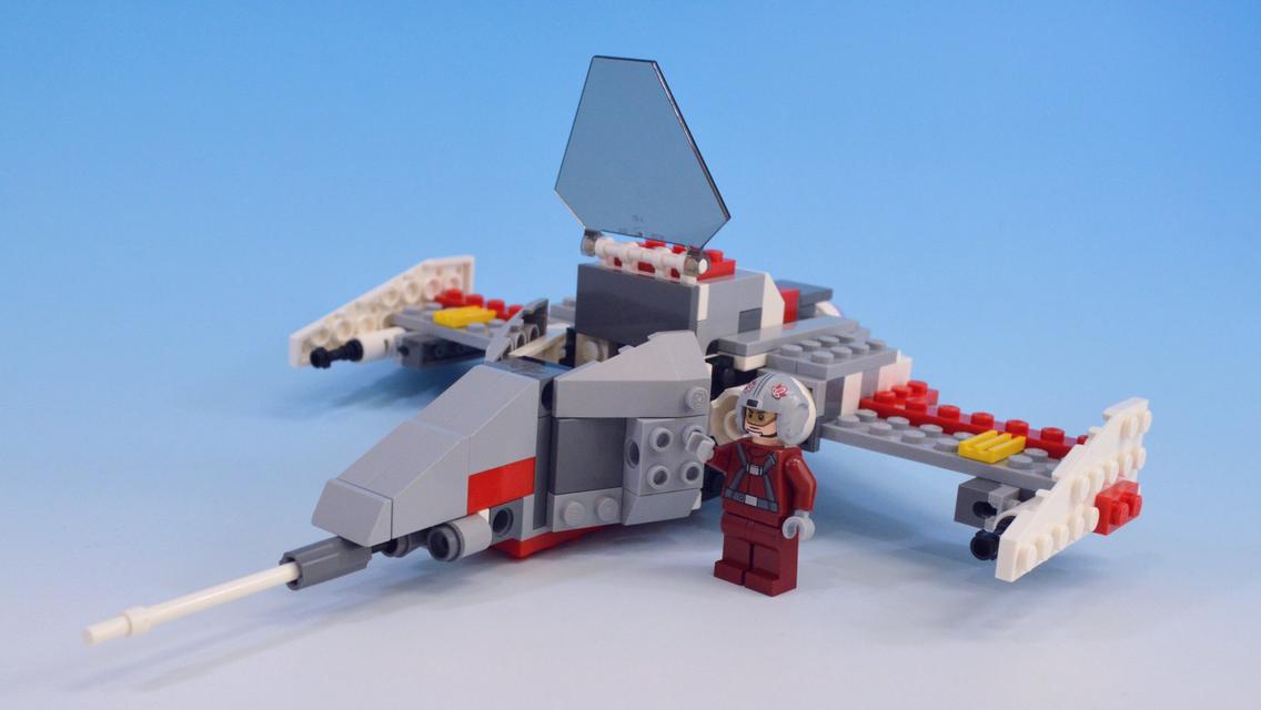 レゴスターウォーズで作るスターファイター2