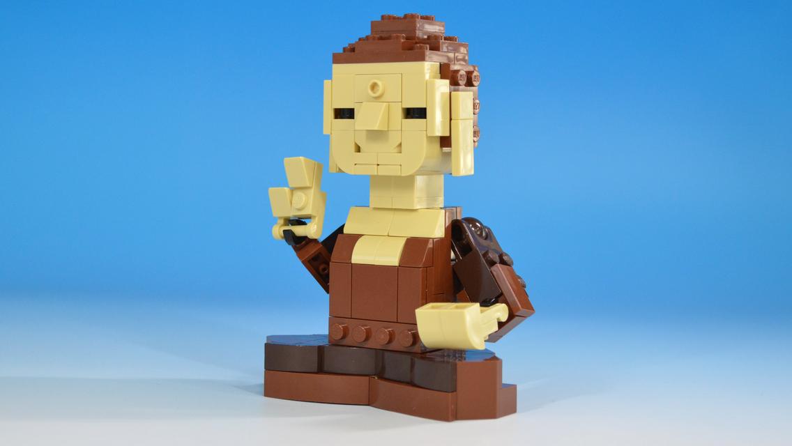 レゴモンキー&バードで作る仏