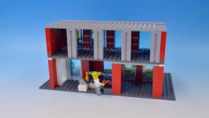 レゴシティ消防署で作るカフェ2